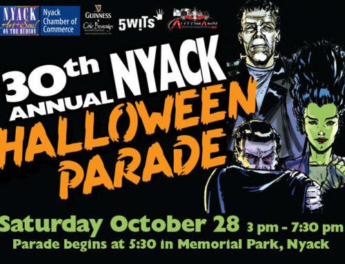 Nyack Halloween Parade – Oct 27th rain date Oct 28th, 2018